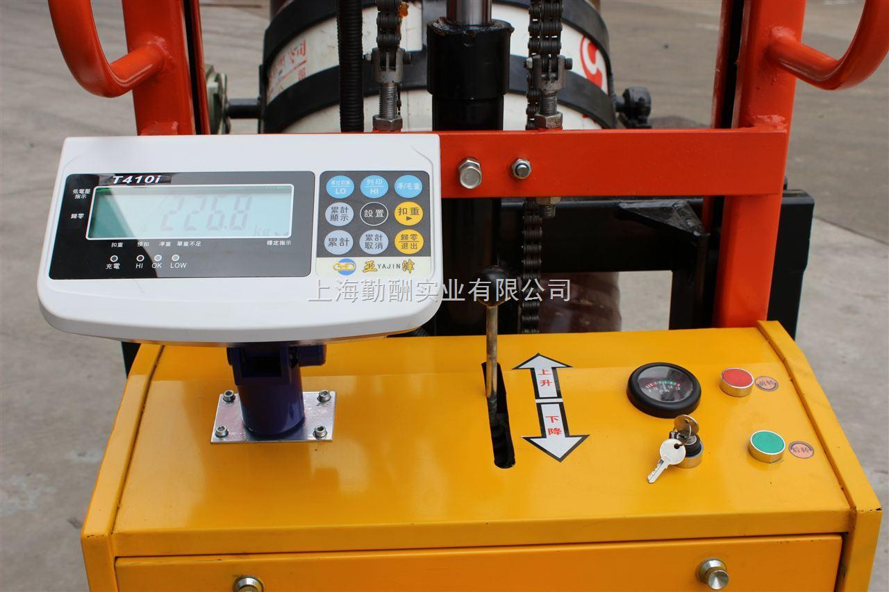 抱式倒料电子油桶秤-推荐抱式搬运油桶秤