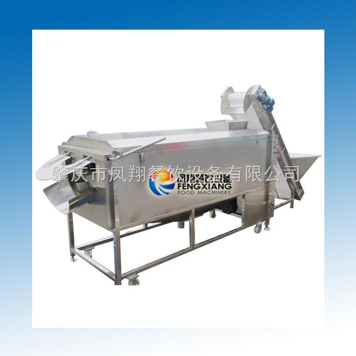 肇庆凤翔 大型螺旋出料式清洗去皮机 土豆去皮 生产线 前加工处理 厂价