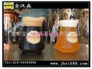 北京自制啤酒設備 首選 金漢森
