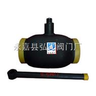 DN125全焊接球阀,钢制焊接球阀,一体式焊接球阀
