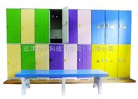 浴室寄存柜浴室存包柜因生锈,发霉,腐蚀您选择什么样的材质更衣柜更合适呢