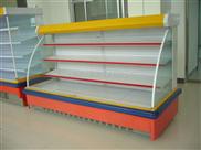矮立风柜 斜面水果保鲜柜 水果冷藏展示柜