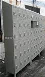30门寄存柜电子密码锁寄存柜 带斜顶式寄存柜 冷轧钢板寄存柜