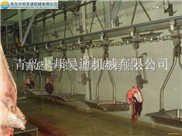 屠宰场设备-生猪屠宰设备-悬挂式同步检疫输送机