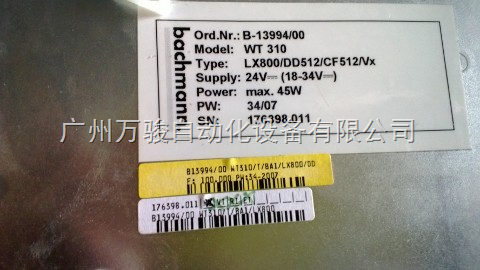 WT310触摸屏维修-广州BACHMANN巴合曼WT310触摸屏维修厂家内蒙古巴赫曼WT310人机界面维修