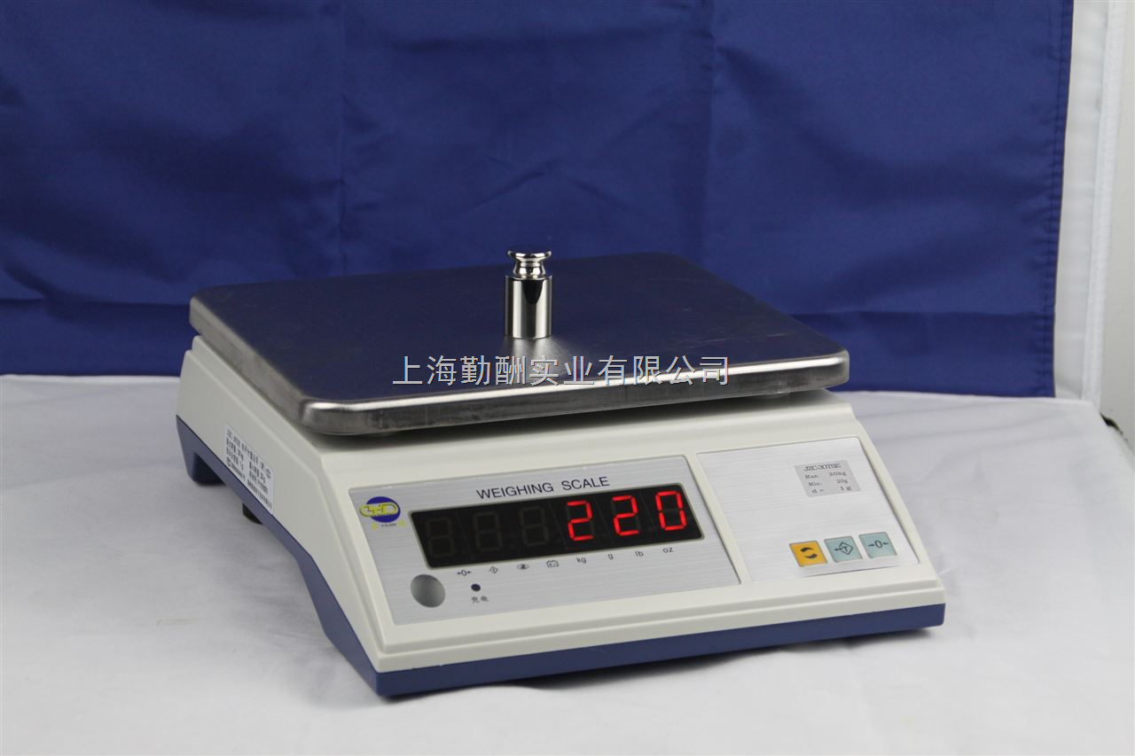 电子桌秤具有计量重量交直流两用功能K