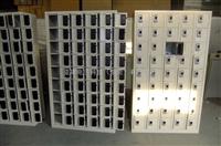 40门手机柜东莞工厂员工手机柜,员工考勤式手机柜,员工铁质手机柜