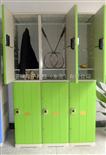 6门更衣柜健身房感应锁更衣柜 健身房浴室防水更衣 健身房塑胶防水更衣柜