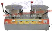 雙鍋 燃氣不銹鋼交 直流兩用 商用爆米花機 鄭州 棉花糖機組