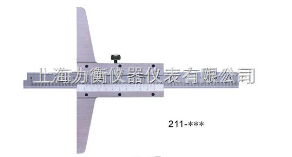南昌0-1000mm深度游标卡尺
