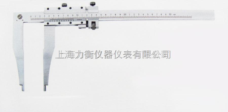烟台500mm*125mm长爪游标卡尺