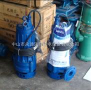 50QW15-10-1.1KW无堵塞潜水排污泵,浸水式下吸泵