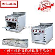 EH-887A-立式電熱四頭煮食爐連焗爐