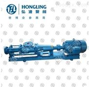 G35-1单螺杆泵,轴不锈钢螺杆泵,卧式污水单螺杆泵