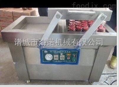 400/2s供应熟食 酱菜真空包装机 双室封口机 下凹式真空包装机