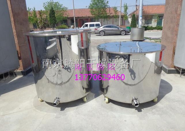 TY-DJ-500L食品厂专用盘管加热反应釜