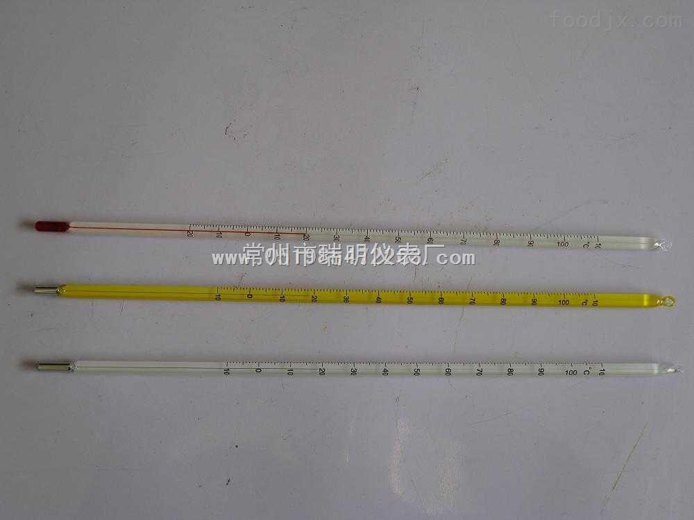 常州市瑞明仪表厂 玻璃温度计 > lx-001精密温度计单价,水银温度计