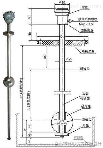UQK-1型磁浮球液位计/B本安防爆型