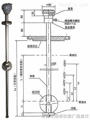UFK系列磁浮球多点液位控制器