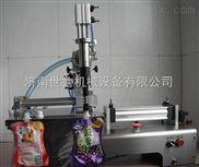 供应带吸嘴软袋灌装机-酸奶灌装机-吸吸果冻灌装机