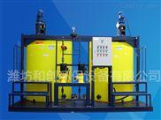 河南安阳水厂PAM三腔式加药装置