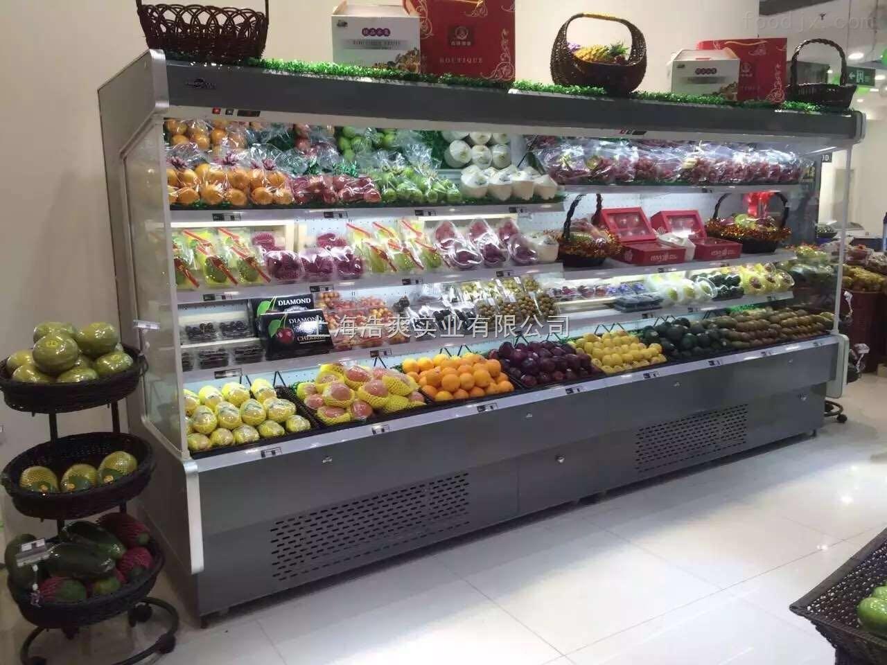 """超市水果蔬菜风幕柜 在前期,我们刚刚向市场推这款风幕柜的时候,也未曾没有客户问过:""""好贵,你们的产品能不能便宜点""""我通常的回答都是:""""没错,因为好,所以贵!产品贵在品质,人贵在品味!产品的质量在于您的选择!世上没有花最少的钱却能买到最好产品的事情;至于价格,我只能说,我不能给您最低的价格,我只能给您最高的品质,我宁可为价格解释一阵子,也不愿意为质量道歉一辈子""""。"""