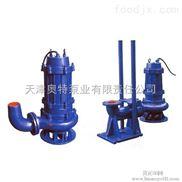 山東淄博400WQ潛水污水泵流量2200方揚程10米潛污泵