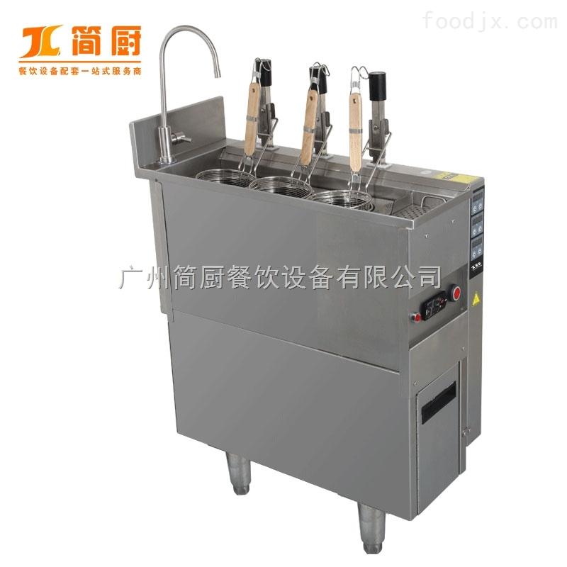 商用电热3头煮面炉 自动升降煮面机 面馆酒店专用煮面设备