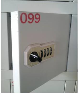 机械密码锁手机柜