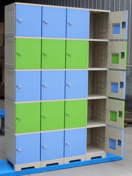塑胶防水更衣柜