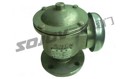 呼吸阀形式:配冲量安全阀使用 主要功能:泄压保护作用 使用介质:水.图片