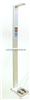 HGM-300宝鸡超声波体检机,自动身高体重秤