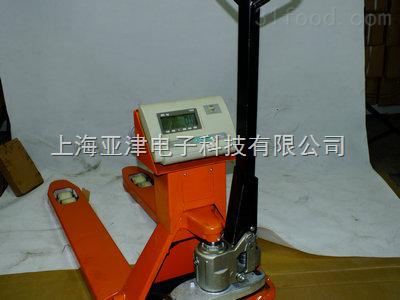 YCS1吨电子叉车秤,液压叉车秤,带打印叉车磅